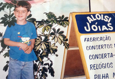 Felipe Aloisi Joalheria Infância
