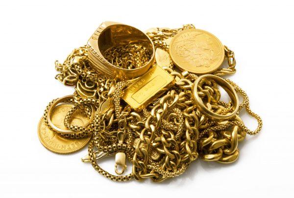 como identificar ouro em casa
